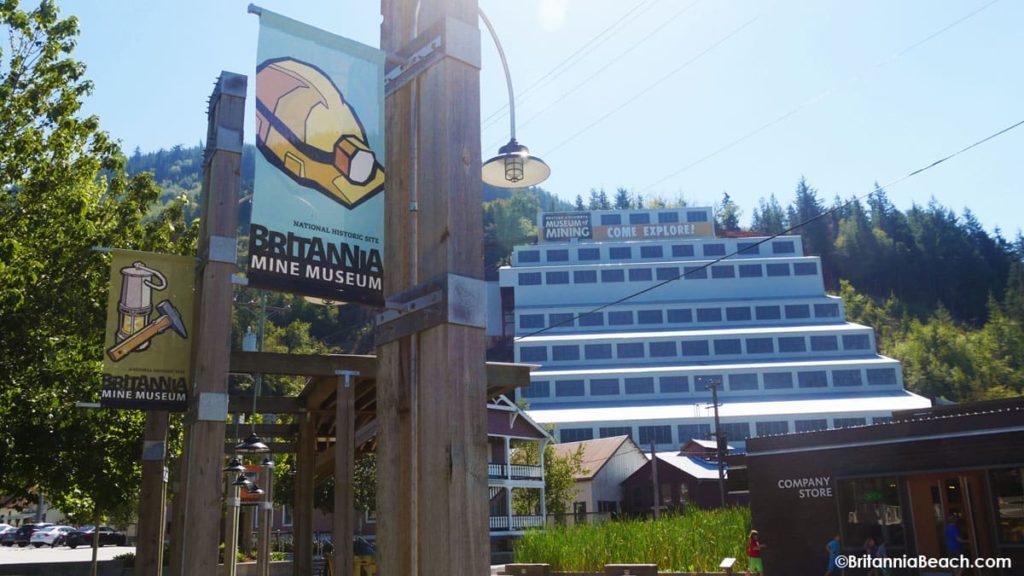 Britannia Beach BC Mining Museum