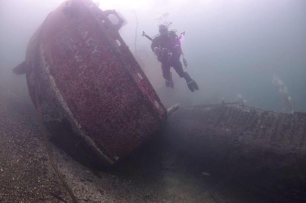 Britannia Beach Diving