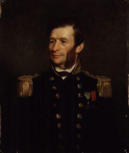 Captain Richards of HMS Plumper